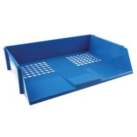 Q-Connect Blue Wide Entry Letter Tray KF21689