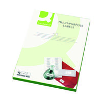 Q-Connect White Multipurpose Label 99.1 x 38.1mm 14 Per Sheet (Pack of 1400) KF26054