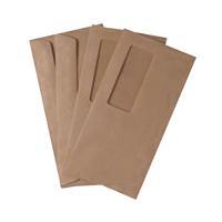 Q-Connect DL Envelopes High Window 70gsm Gummed Manilla (Pack of 1000) 721204