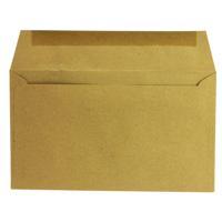 Q-Connect 89x152mm 70gsm Gummed Manilla Envelope (Pack of 1000) 721166