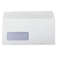 Q-Connect DL Window Envelopes 100gsm Self Seal White (Pack of 1000) 7138