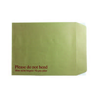 Q-Connect Board Back Envelope 267x216mm 115gsm Peel and Seal Manilla (Pack of 125) KF3519