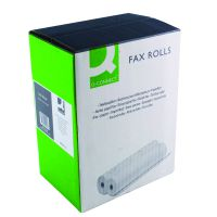 Q-Connect White 216mmx15mx12mm Fax Roll (Pack of 6) KF50108