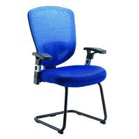 Arista Mesh Visitor Blue Chair KF72244