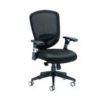 Arista Mesh High Back Task Black Chair KF72246