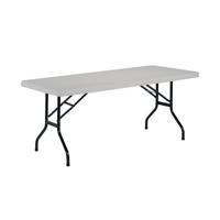 Jemini White 1520mm Folding Rectangular Table KF72329