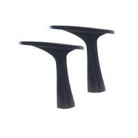 Jemini Black Medium Back Task Chair Arms (Pack of 2) KF73604