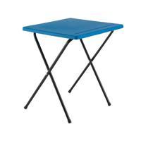 Jemini Folding Exam Desk Polypropylene Blue KF78652