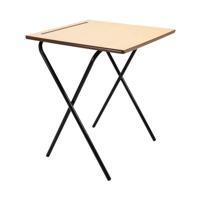 Jemini Folding Exam Desk MDF KF78654