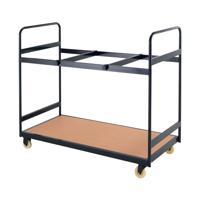 Jemini Folding Exam Desk Trolley 25 Capacity KF78655