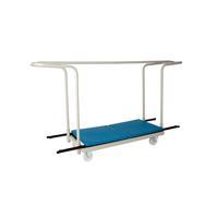 Jemini Folding Exam Desk Trolley 40 Capacity KF78656