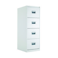 Talos 4 Drawer Filing Cabinet White KF78773