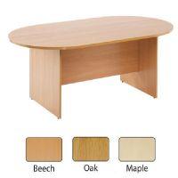Arista 2400mm Boardroom Table Oak KF838284