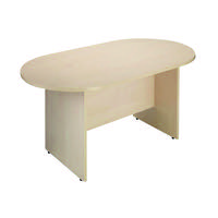 Arista 2400mm Boardroom Table Maple KF838285