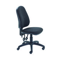 First High Back Operators Chair Charcoal KF98507