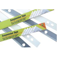 Suspension Tape 4 Hole A0 55x841mm Embroidery Finish (Pack of 100) PLA EM 4841