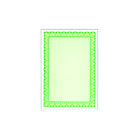 Decadry A4 Shell Emerald Green C Certificate Paper 115gsm (Pack of 25) OSD4054