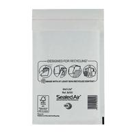 Mail Lite Bubble Lined Postal Bag Size B/00 120x210mm White (Pack of 100) MLW B/00