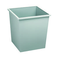 Avery Steel Bin Square 27 Litre Grey 631LGRY