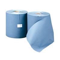 Leonardo 1-Ply Hand Towel Roll Blue (Pack of 6) RTB200DS