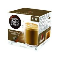 Nescafe Dolce Gusto Cafe au Lait Intenso Capsules (Pack of 48) 12346512