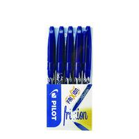 Pilot FriXion Ball Medium Line Pack of 5 Wallet Blue 224300503