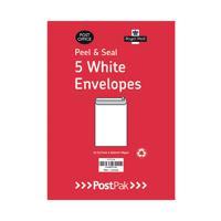 Envelopes C5 Peel & Seal White 90Gsm (Pack of 5) POF27431