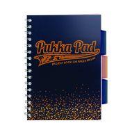 Pukka A4 Jotta Project Book Navy 8248-BLS