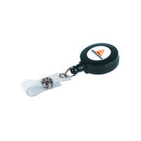 Announce Badge Reel Charcoal 660mm (Pack of 10) PV03304