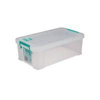StoreStack 5.8 Litre Clear W350xD190xH120mm Storage Box RB90122