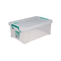 StoreStack 10 Litre Clear W400xD255xH150mm Storage Box RB90123