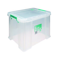 StoreStack 36 Litre Clear W480xD380xH320mm Storage Box RB90124