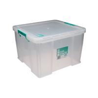 StoreStack 48 Litre Clear W490xD440xH320mm Storage Box RB90125