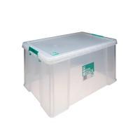StoreStack 70 Litre Clear W660xD450xH320mm Storage Box RB90126