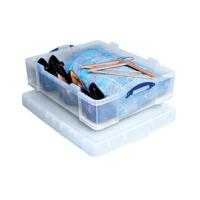 Really Useful 70 Litre Box Clear 70C