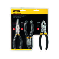 Stanley 3 Piece Pliers Set 0-84-114 (Pack of 3)