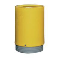 Outdoor Open Top Bin 75 Litre Yellow 321779