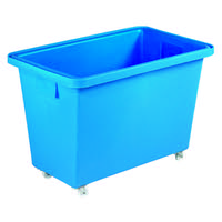 Mobile Nesting Container 150L Light Blue 328227