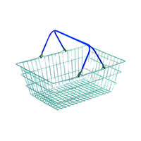 Wire Shopping Baskets (Pack of 5)
