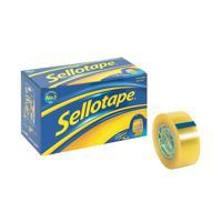 Sellotape 24mm x 33m Golden Tape (Pack of 6) 1443254