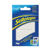 Sellotape Sticky Fixers 12 x 25mm Permanent (Pack of 56) 1445423