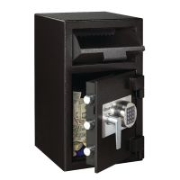 Master Lock Deposit Under Counter Safe 36.8 Litres Black DH-109E