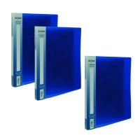 Snopake A4 2 Ring Binder 15mm Electra Blue Get 3 for the Price of  2 (Pack of 20 + 10) SK812398