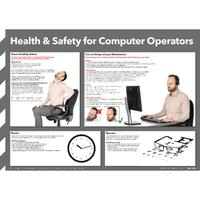 Health and Safety For Computer Operators Poster 420x594mm FAD129