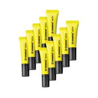 Stabilo Neon Highlighter Yellow (Pack of 10) 72/24