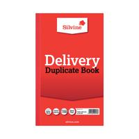 Silvine Duplicate Delivery Book 210x127mm (Pack of 6) 613-T