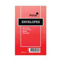 Silvine Duke Pre-Glued Envelopes (Pack of 36) 101-0174