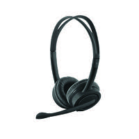 Trust Mauro USB Headset 2.5m Cable (Adjustable Headband and Soft Ear Cushions) 17591