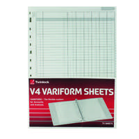 Rexel Variform V4 6 Cash Column Refill Pack of 75 75932