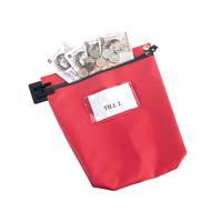 GoSecure Cash Bag With Window Red CB1R